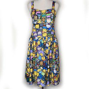 JapanLA x Simpsons x Hello Kitty dress size M